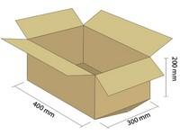 Karton klapowy 3W 400x300x200 mm