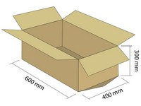 Karton klapowy 5W 600x400x300 mm