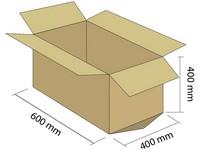 Karton klapowy 5W 600x400x400 mm