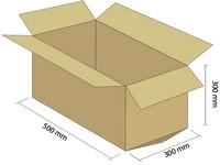 Karton klapowy 5W 500x300x300 mm