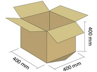 Karton klapowy 5W 400x400x400 mm