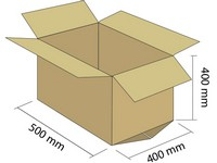 Karton klapowy 5W 500x400x400 mm