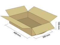 Karton klapowy 3W 400x300x100 mm