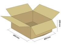 Karton klapowy 3W 400x400x200 mm
