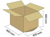 Karton klapowy 3W 400x400x400 mm
