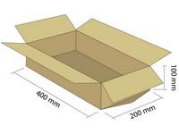 Karton klapowy 3W 400x200x100 mm