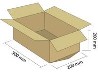 Karton klapowy 3W 300x200x200 mm