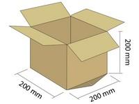 Karton klapowy 3W 200x200x200 mm