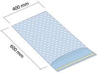 Woreczek z folii bąbelkowej 400x600 mm z klapką samoprzylepną 50mm