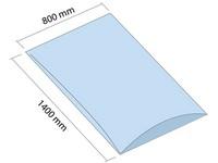 Worek LDPE 800x1400 mm, grubość 100 µm