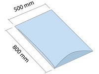 Worek LDPE 500x800 mm, grubość 30 µm