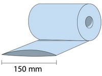 Folia LDPE - rękaw 150x0,03mm; termokurczliwa