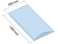 Worek LDPE 600x1200 mm, grubość 200 µm