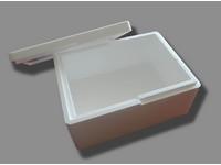 Pudełko styropianowe z pokrywą 390x290x185 mm