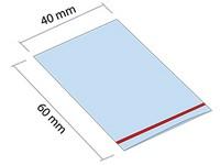 Woreczek strunowy ZIP 40x60 mm
