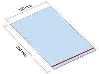 Woreczek strunowy ZIP 180x250 mm
