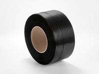 Taśma spinająca PP 12 x 0,5 mm; nawój 3100 m; czarna
