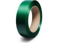 Taśma spinająca PET 15 x 0,6 mm; nawój 2500 m; zielona