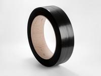 Taśma spinająca PP 12 x 0,7 mm; nawój 2200 m; czarna
