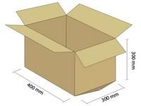 Karton klapowy 3W 400x300x300 mm