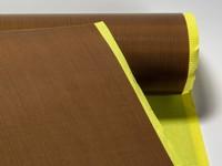Tkanina teflonowa 80 µm, szerokość 1000 mm. Klejąca.